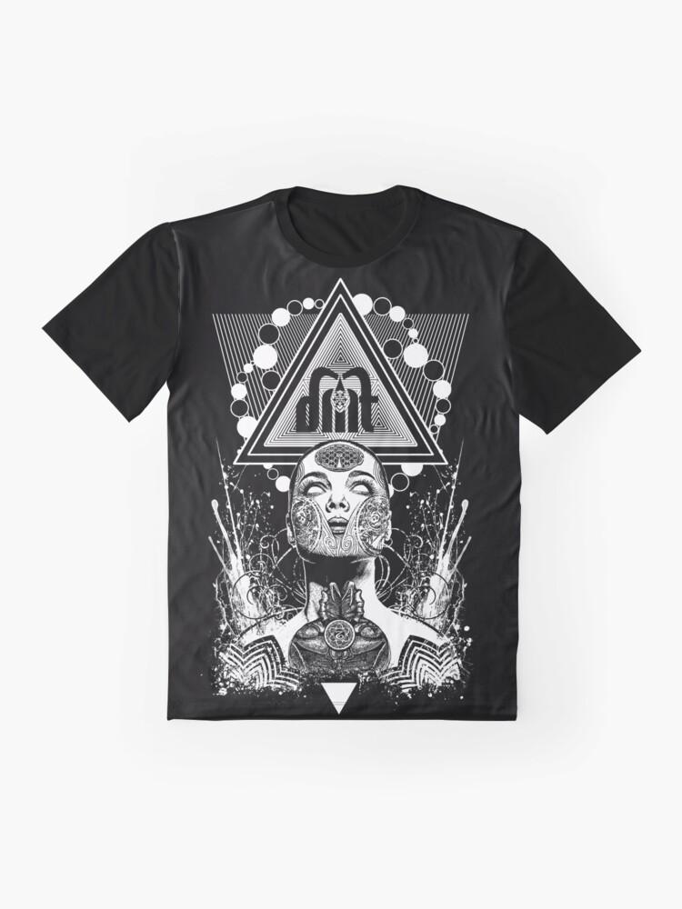 Alternate view of DMT Goddess Graphic T-Shirt