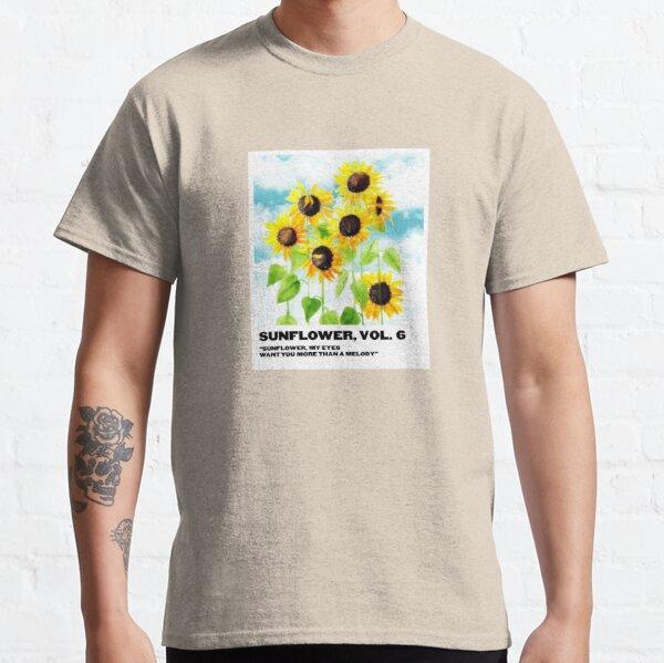 girasol Camiseta clásica