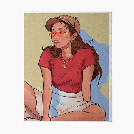 ulzzang girl Art Board Print