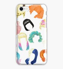 Iconic Hairstyles iPhone Case/Skin