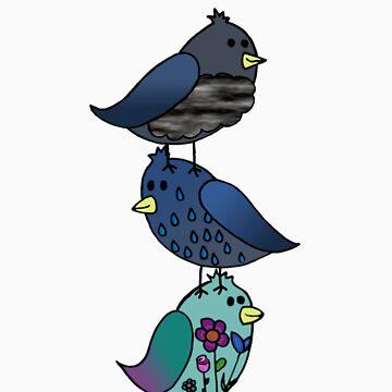 Birds of Spring. by purplesmoke17