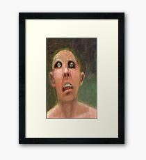 Scheme 5 (my chameleon is dead) Framed Print
