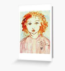 Alice Still In Wonderland Greeting Card