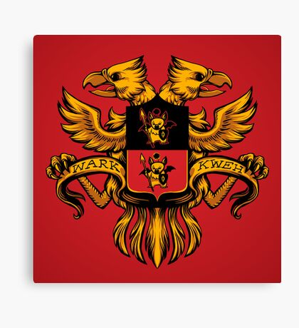 Crest de Chocobo Canvas Print