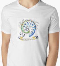 Hallucigenia sparsa  Men's V-Neck T-Shirt