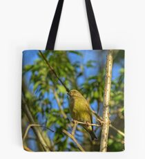 Greenfinch Tote Bag