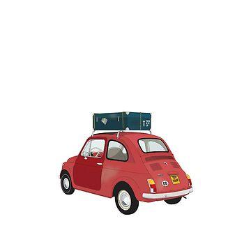 Fiat 500 vector by Tedri