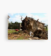 2011 08 21 Goderich, Ont. Tornado One Week Later Aftermath 6697 Canvas Print