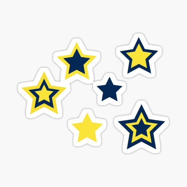 umich stars Sticker