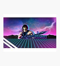 Rambo 80's Future Photographic Print