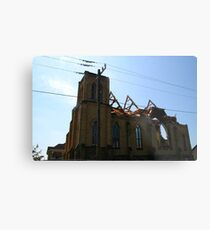 2011 08 21 Goderich, Ont. Tornado One Week Later Aftermath 6851 Metal Print