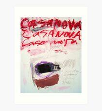 Casanova Art Print