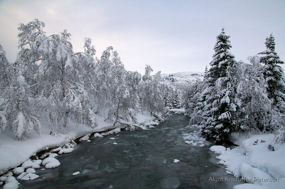 New year's eve - snowy Korlevoll by Algot Kristoffer Peterson