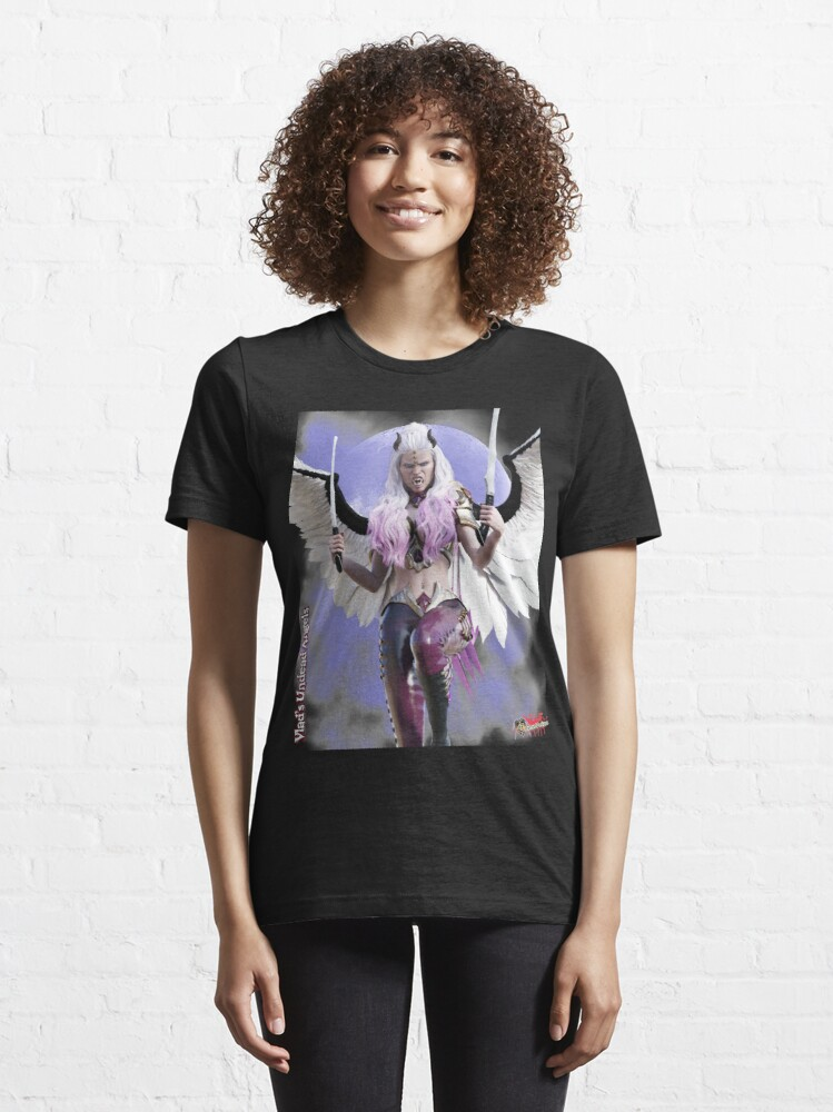Alternate view of Undead Angels By Moonlight: Angel Redemption Essential T-Shirt