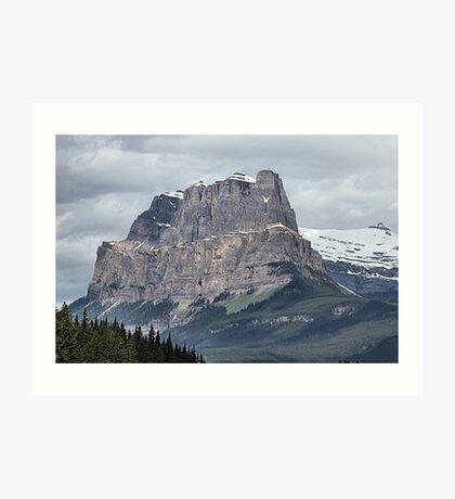 So Majestic - Castle Mountain Art Print