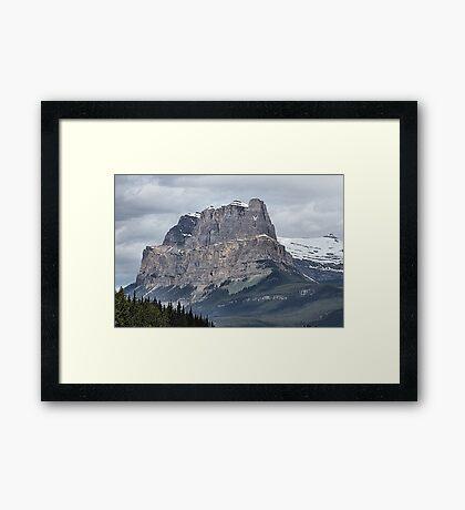 So Majestic - Castle Mountain Framed Print
