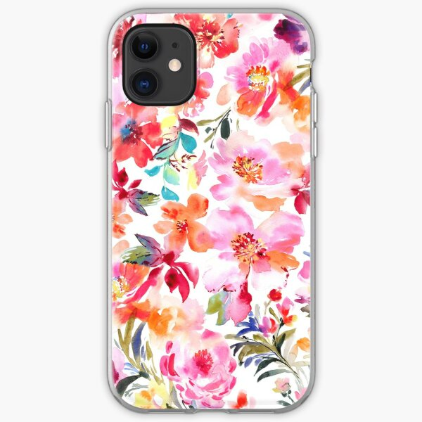 Spring Floral iPhone Soft Case
