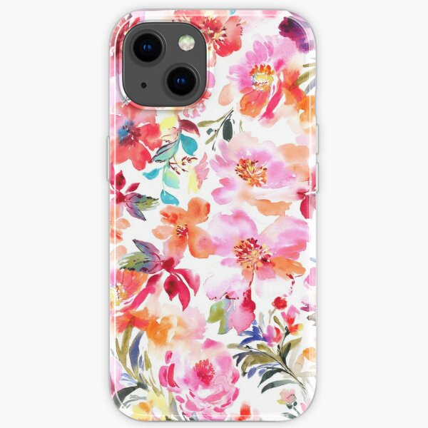 Spring Floral iPhone Soft Case