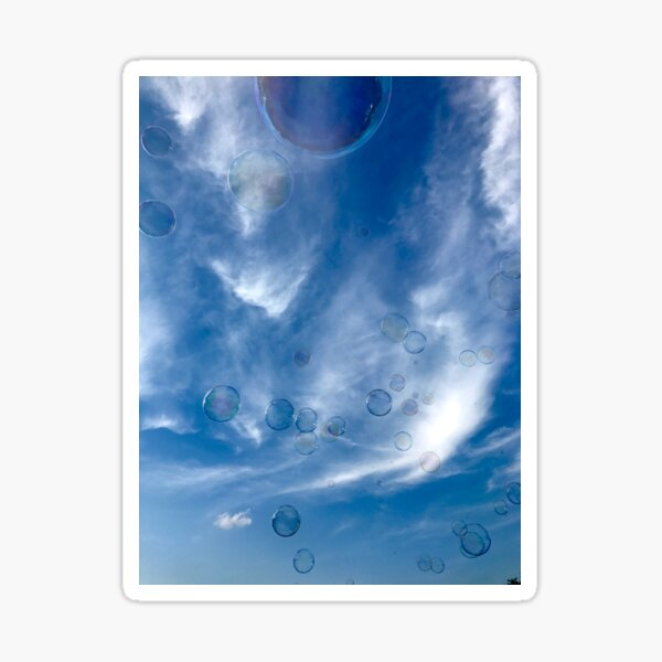 Sky Bubbles Sticker