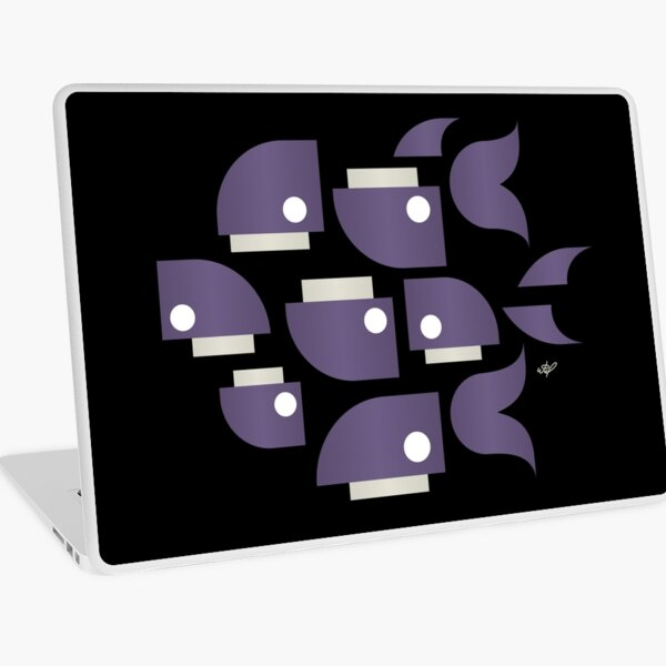 Whales and Whales Laptop Skin
