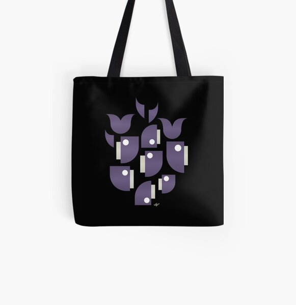 Whales and Whales All Over Print Tote Bag