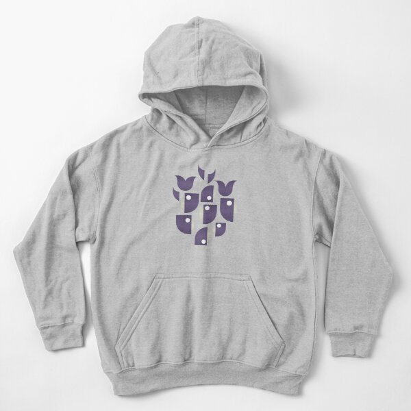 Whales and Whales Kids Pullover Hoodie