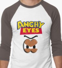 Angry Eyes Men's Baseball ¾ T-Shirt
