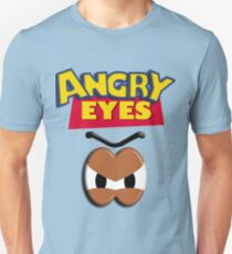 Angry Eyes Slim Fit T-Shirt