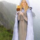 Saint Brighid of Kildare by Rowan  Lewgalon