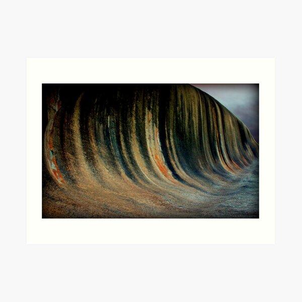 Wave Rock,  Western Australia Art Print
