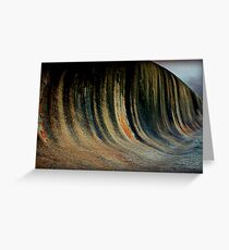 Wave Rock,  Western Australia Greeting Card