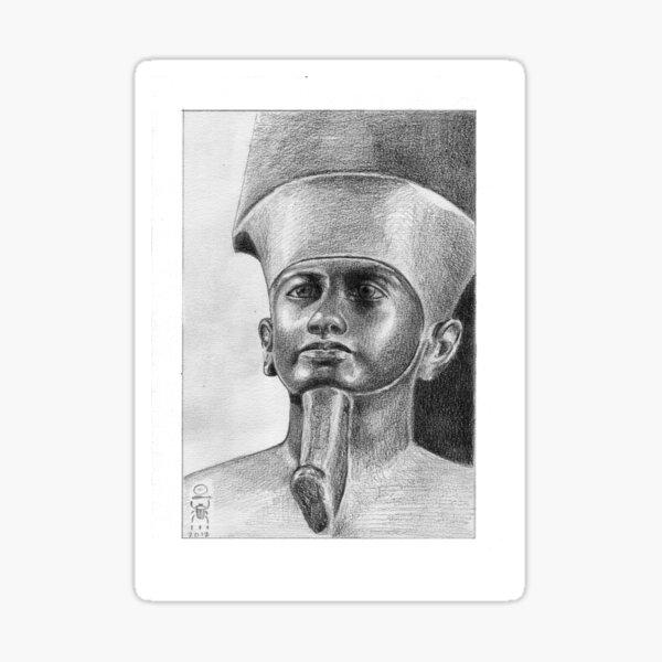 Imagining Amun Sticker