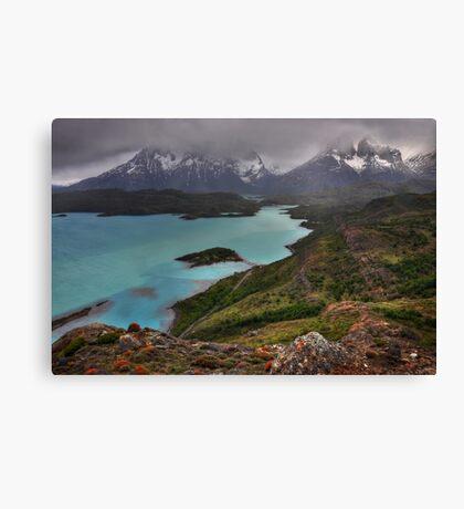 The Grandeur of Torres del Paine Canvas Print