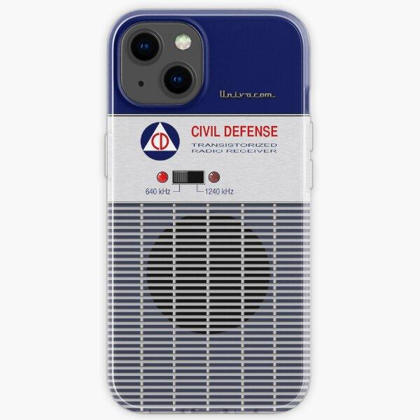 Civil Defense Radio iPhone Soft Case