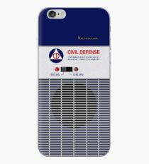 Civil Defense Radio iPhone Case
