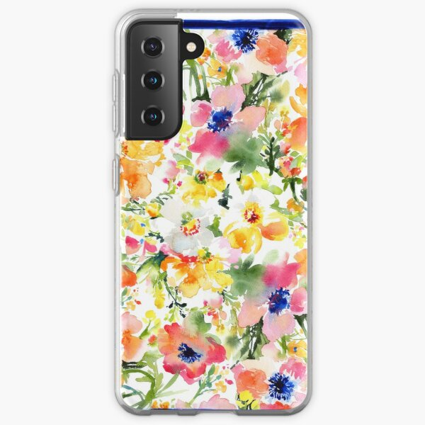 Colorful Poppies Samsung Galaxy Soft Case