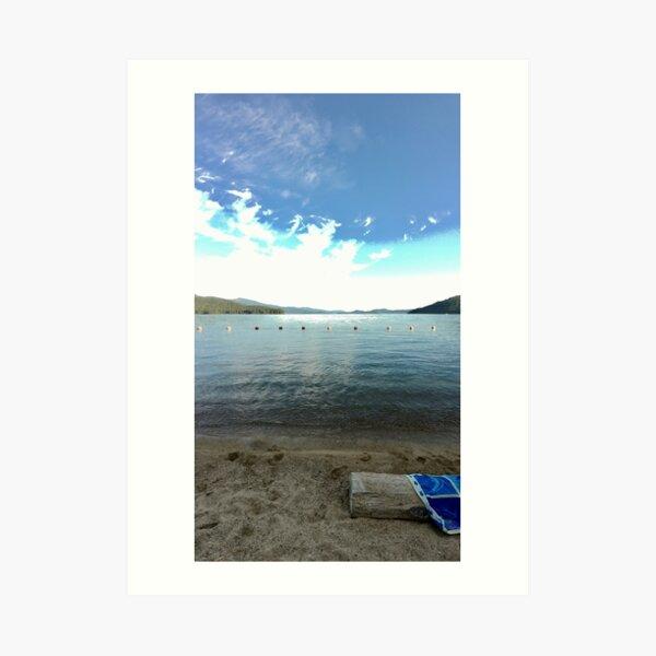 Lakeside at Priest Lake Art Print