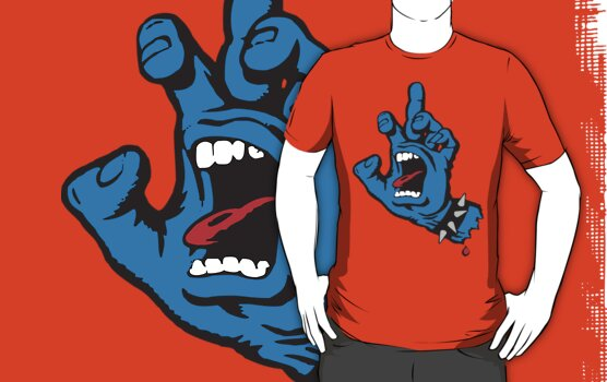 FU Santa Cruz Screaming Hand T-Shirt
