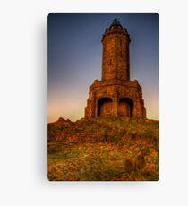 Darwen Tower, Sunrise HDR Canvas Print