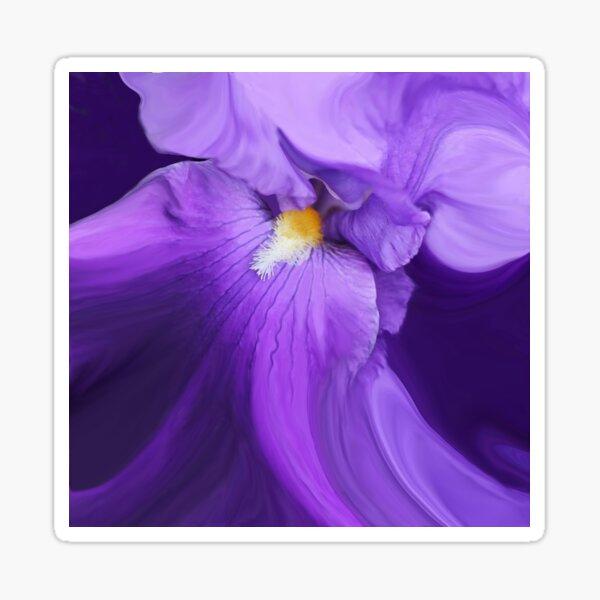 Ever-Flowing Iris Sticker