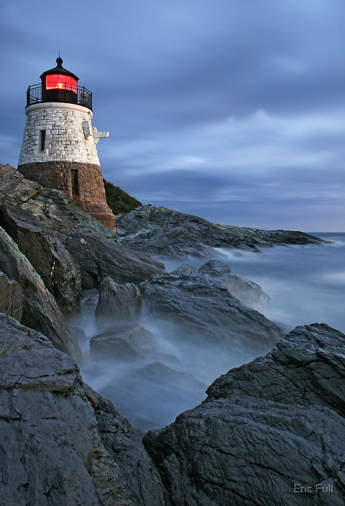 Castle Hill Lighthouse by Eric Full
