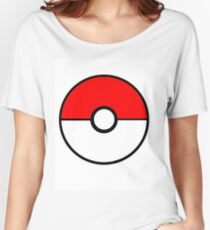 Simplistic Pokeball Women's Relaxed Fit T-Shirt