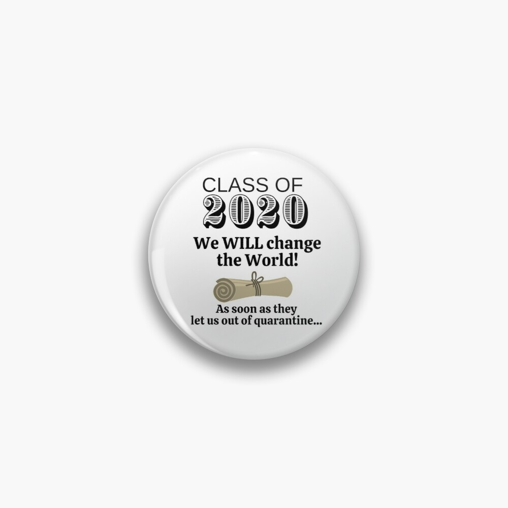 Class of 2020 - Version 2 Pin