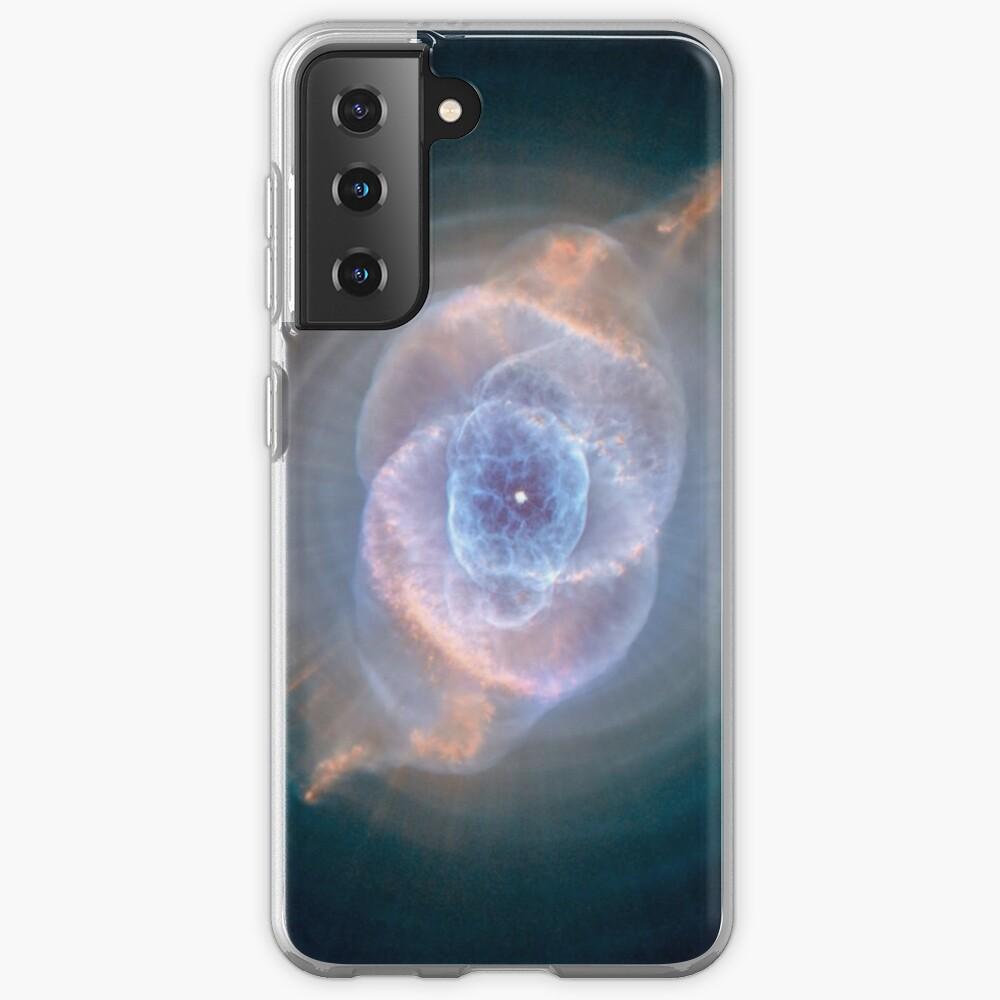NASA's Hubble Space Telescope: Cat's Eye Nebula Samsung Galaxy Phone Case