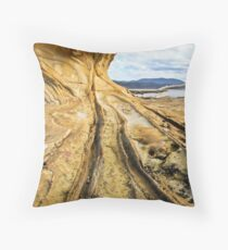 Abel Formations Throw Pillow