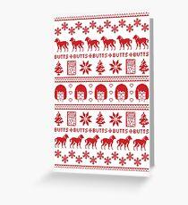 Ugly Holiday Tina! Greeting Card