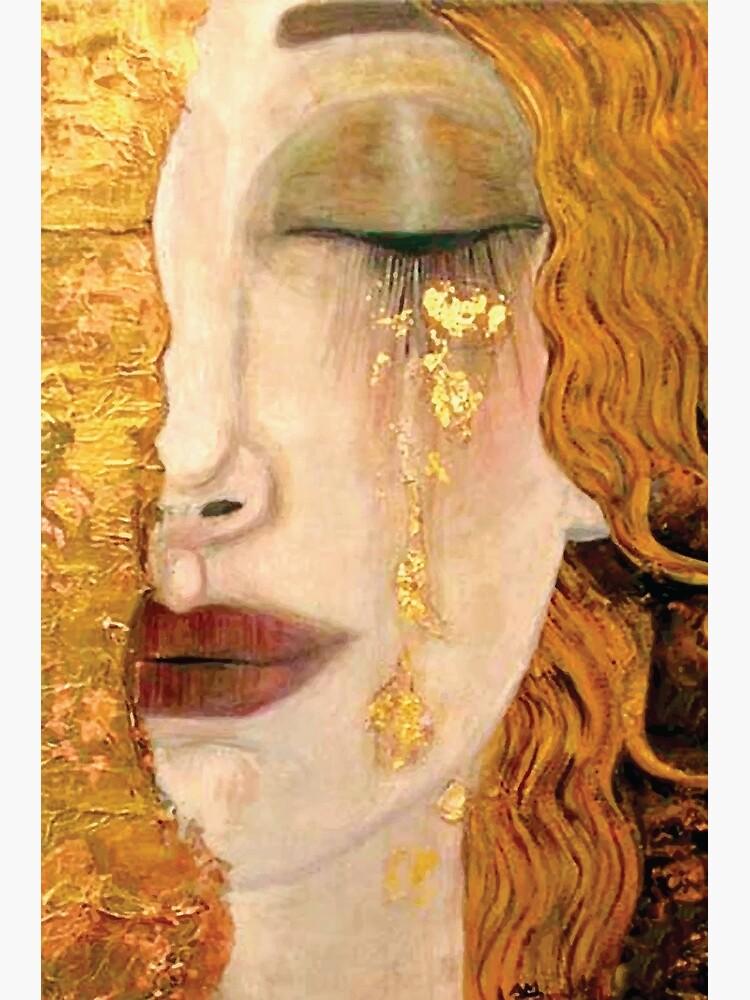 Gustav Klimt | The Golden Tear by badguyduh