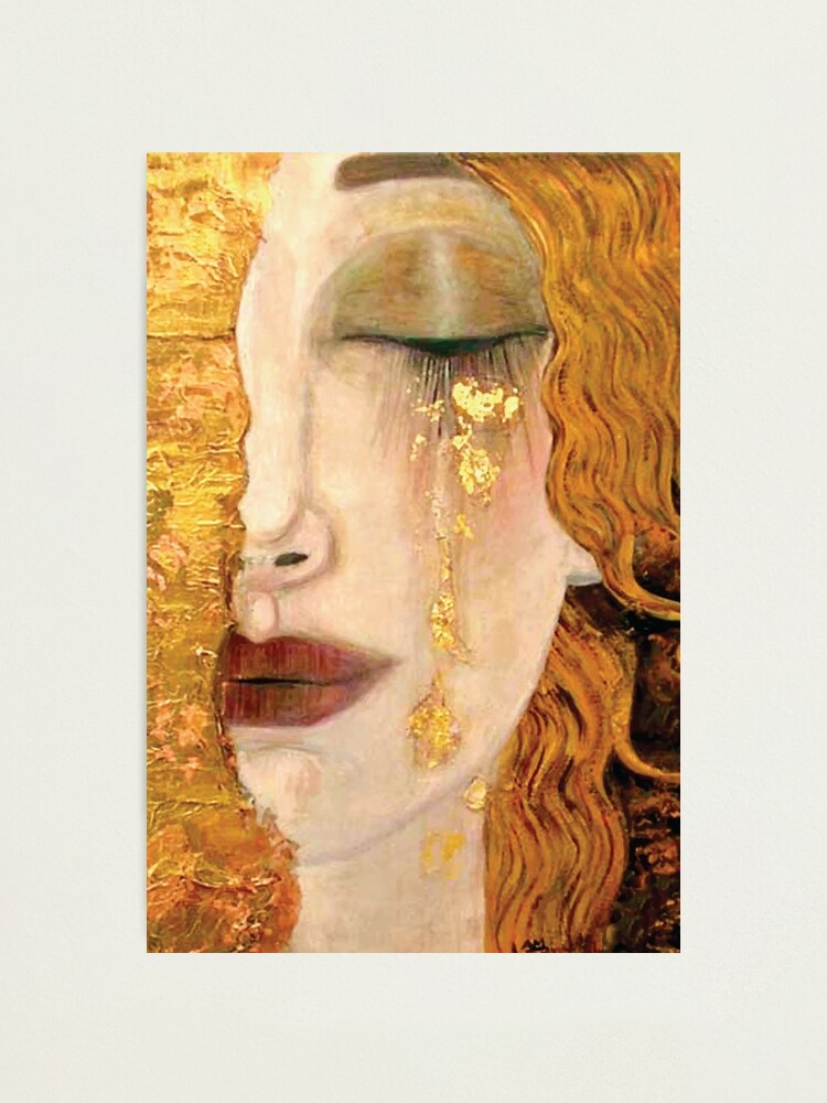 Alternate view of Gustav Klimt | The Golden Tear Photographic Print