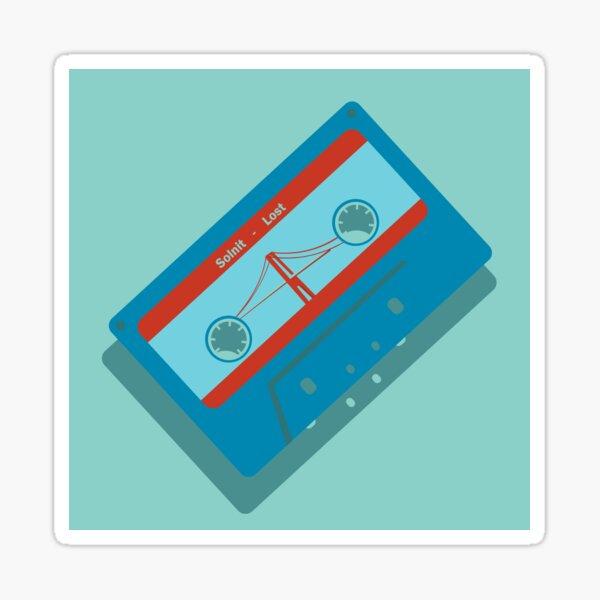 Lost Cassette Tape Sticker