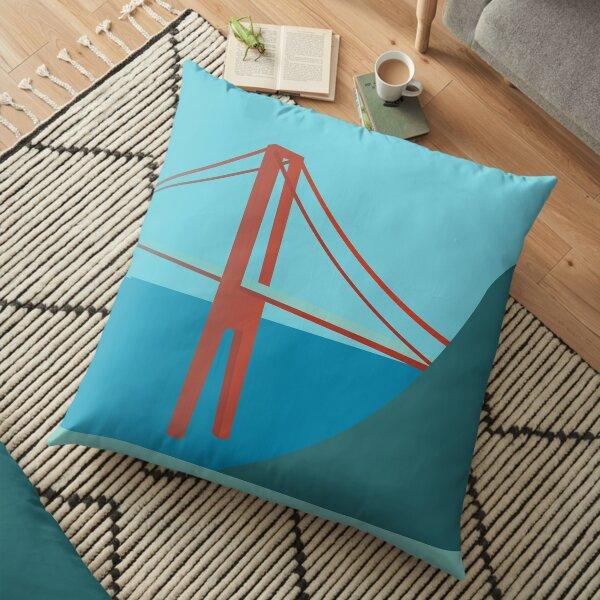 Golden Gate Floor Pillow